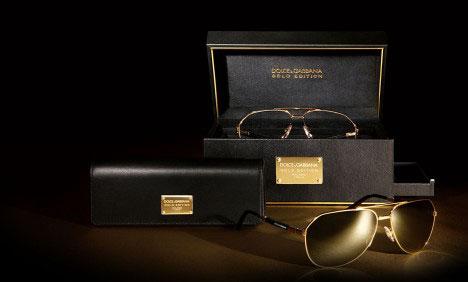 Dolce & Gabbana Gold Eyewear