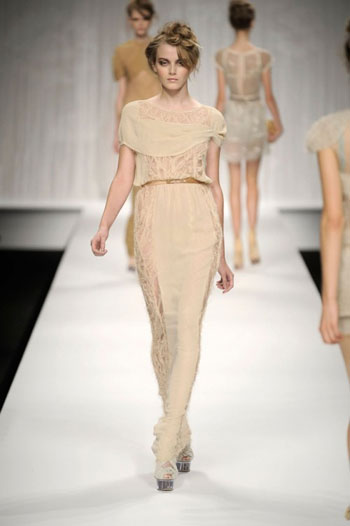 Fendi Women's Clothing Spring-Summer 2010