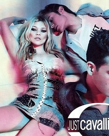 Kate Moss for Just Cavalli