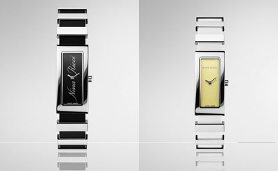 Nina Ricci N029 Watch: Black and White