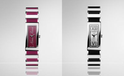 Nina Ricci N029 Watch: Fuchsia and Black
