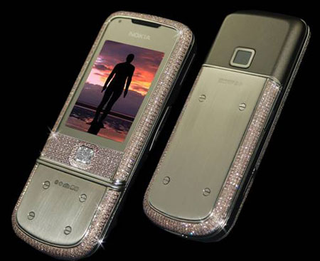 Most Expensive Nokia Supreme: Diamond-Decorated