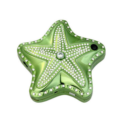 Star Shape Lady's Cell Phone