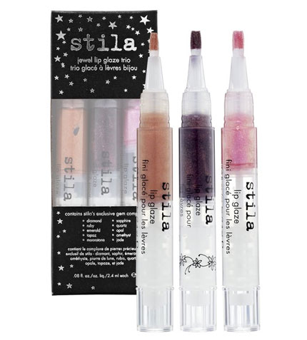 Stila Jewel Lip Glaze Trio