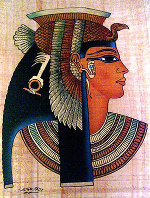 Cleopatra: Ancient Egyptian Eyeliners Against Bacterias
