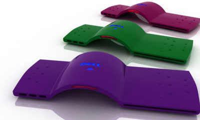 Dell Froot PC Concept: Colorful