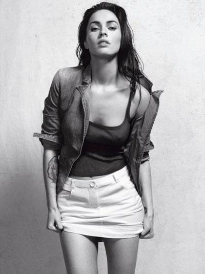 Megan Fox's Sexiness in Armani Campaign