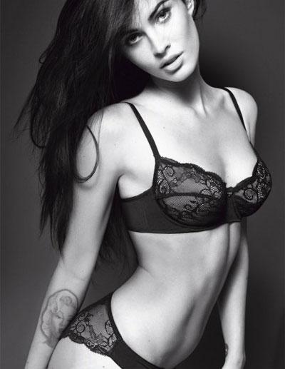 Megan Fox: Emporio Armani Underwear