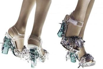 Prada Spring Summer 2010: Shoes