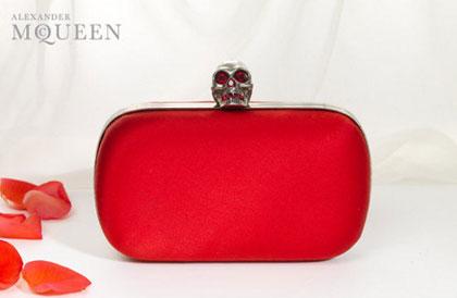 Alexander McQueen Skull Clutch