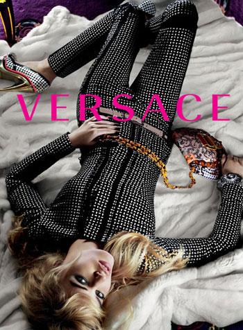 Georgia Jagger 2010 Versace