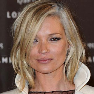 Kate Moss Grey Hair