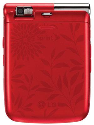 LG Lotus Elite In Red
