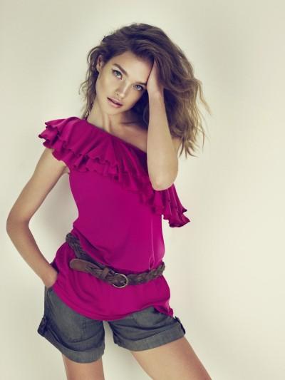 Natalia vodianova promotes etam pr t a porter line fashion wear geniusbeauty - Etam pret a porter marseille ...