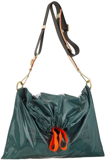 Louis Vuitton Plastic Trash Bag