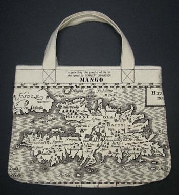 Mango Handbag: Supporting the people of Haiti, designed by Scarlett Johansson