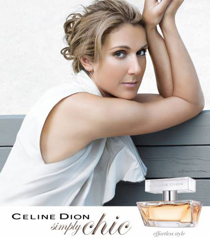 Celine Dion Fragrance Simply Chic