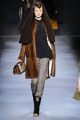Fendi Furs Collection Milan Fashion Week