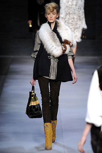 Fendi Furs from Karl Lagerfeld