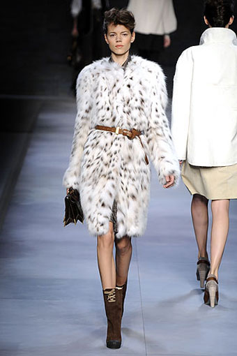 Karl Lagerfeld for Fendi 2010