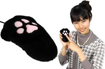 Thanko's Mouse Looks Like a Paw