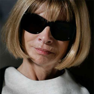 Anna Wintour is a powerful woman