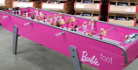 Barbie Foot Game