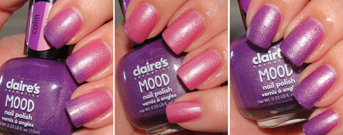 Claire Mood Nail Polish Calm-Wild