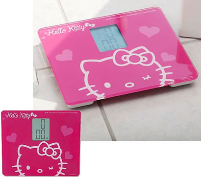 Hello Kitty Weighing Scale
