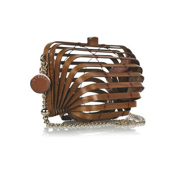 Stella McCartney Accordion Clutch Bag