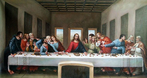 Canvas The Last Supper