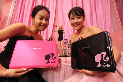 Barbie-Targeted Samsung Laptop – X170