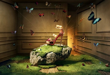 Christian Louboutin Fairy Tale Ad Campaign