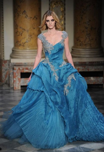 Haute couture 2010 runway show from zuhair murad fashion for Ocean themed wedding dress