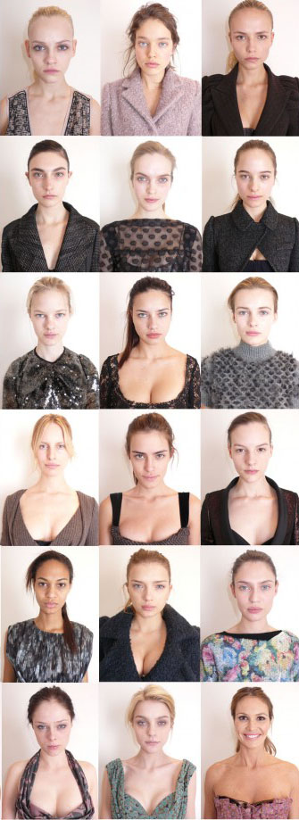 Louis Vuitton Ad Campaign Makeup Free Models