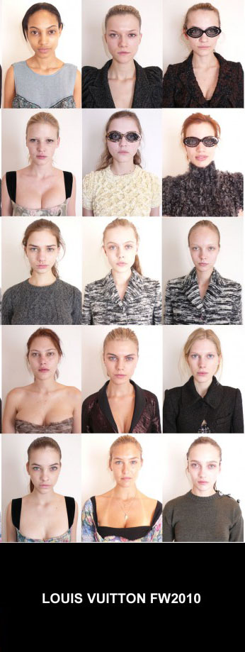 Louis Vuitton Ad Campaign Makeup Free