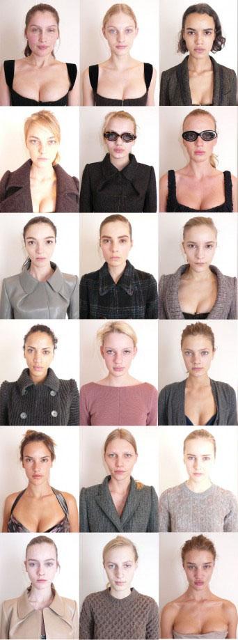 Makeup Free Models