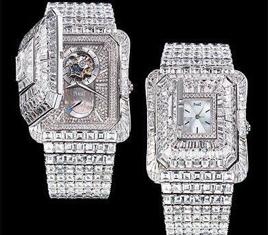 Piaget Emperador Temple Diamonds Watch