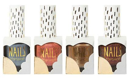TopShop Makeup Metallic Nail Lacquer