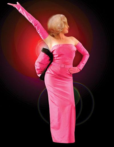 Marilyn Monroe Gentlemen Prefer Blondes dress