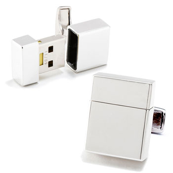 USB Flesh Drive Cufflinks