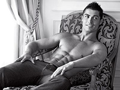 Cristiano Ronaldo Armani's ads 1