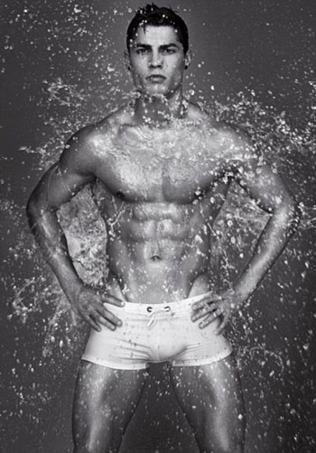 Cristiano Ronaldo Armani's ads 7