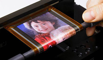 Sony's OLED display