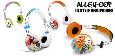 Alley Oop DJ Style Headphons Canyon