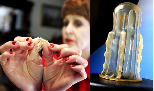 Anti-rape female condom
