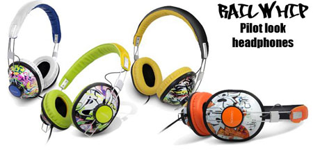Ball Whip Pilot Look Headphones Canyon