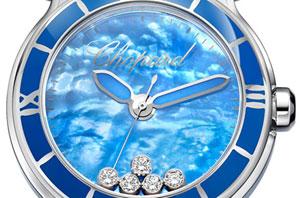 Chopard Happy Sport XL blue