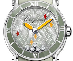 Chopard Happy Sport XL green