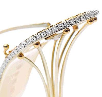 Diamond And Gold Sandals Eternal Diamond Fashion Amp Wear